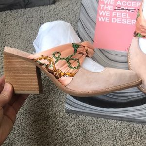 bfcc3f876f1 Jeffrey Campbell Shoes - Jeffrey Campbell Cyrus Scarf Bow Mules